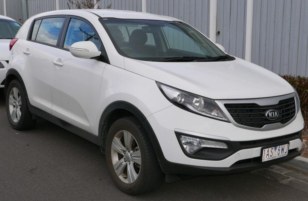 Kia Sportage Rent A Car