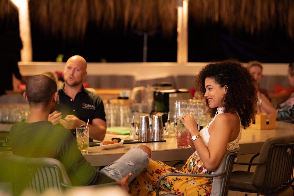 Koraal rooftop bar @ Coral Estate Luxury Resort
